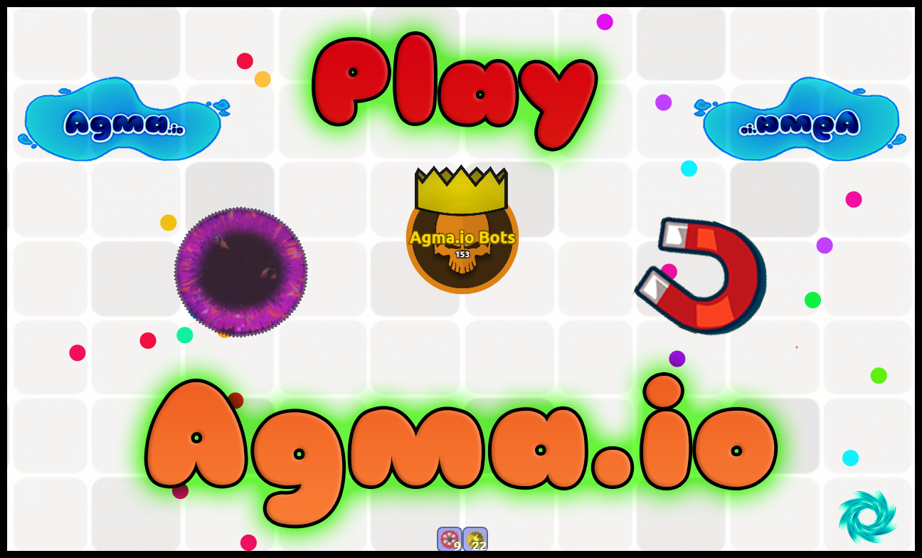 Agma io - A free multiplayer MMO game